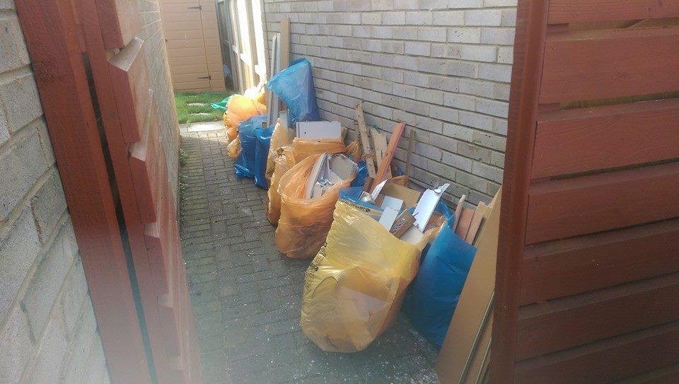 Builders waste cleared Yarm